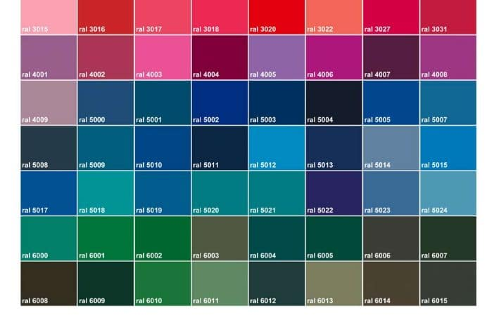 RAL COULEURS | ACPORTAIL