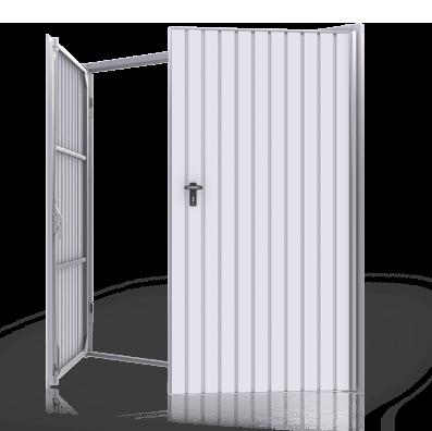 Porte de garage battante 2 vantaux