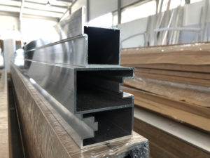 Fabrication portail alu